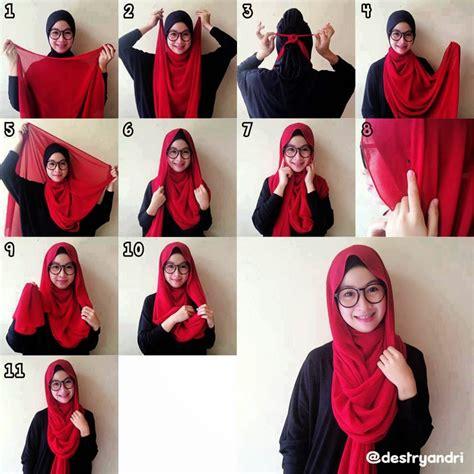 Jilbab J0300 I Jilbab I I Pashmina I Jilbab Segi Empat I Khimar 101 cara memakai jilbab pashmina modern