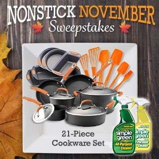 nonstick november sweepstakes - November Sweepstakes