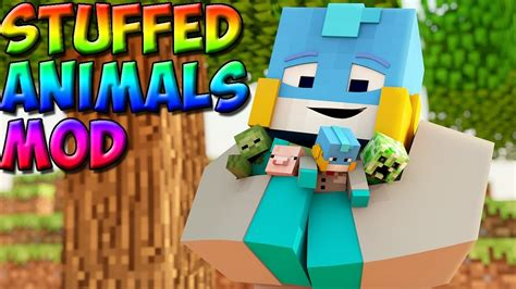 Minecraft:Stuffed animals mod!   YouTube