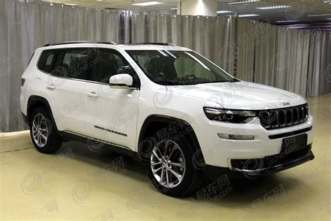 commander jeep 2018 jeep grand commander 7 seater leaks ahead of