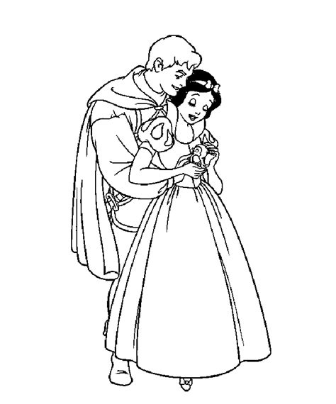 Snow White Coloring Pages Printable Images Of Princess Snow White Printable