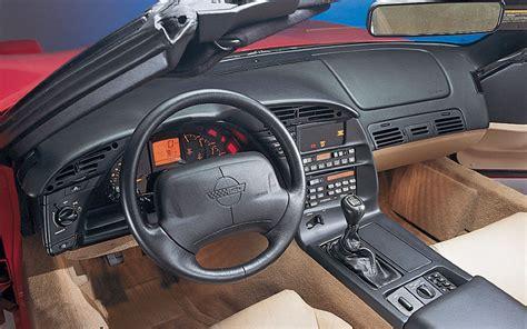 1994 corvette zr1 c4 car interior design
