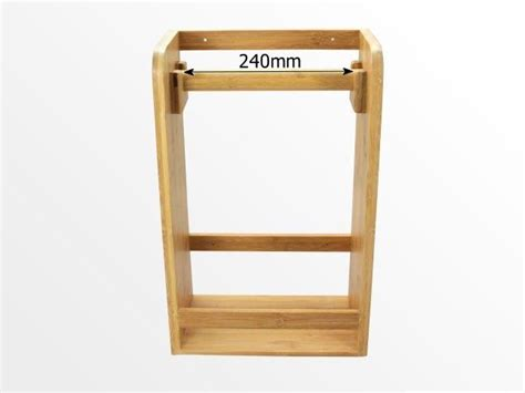 Spice Rack Paper Towel Holder by Bamboo Kitchen Paper Towel Holder Spice Rack Ebay