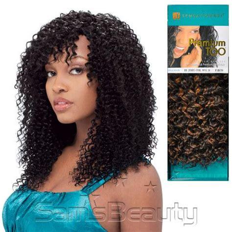 sensationnel premium too human hair blend braid jerry curl bulk premium too jerry curl weave 100 human hair prices of