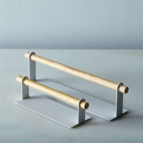 Magnetic Kitchen Towel Rack magnetic kitchen towel holder on food52