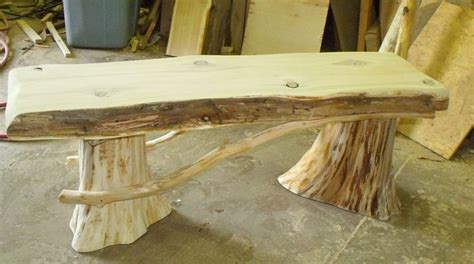 cedar log benches benches chairs handcrafted log best 25 cedar bench ideas on pinterest usd index live wood joints and coffee table