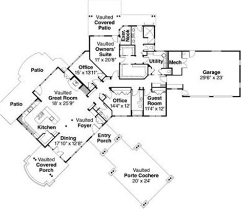 large single story house plans 2 bedroom 2 bath bungalow house plan alp 0202