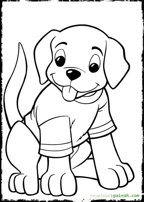 cute coloring pages of puppies cute beagle puppy coloring pages printable cute best