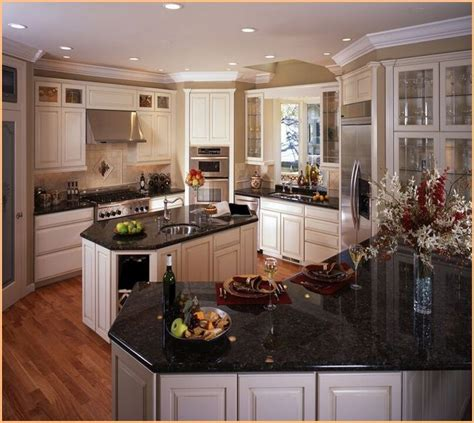 antique white kitchen cabinets with granite countertops picture of antique white kitchen cabinets with black