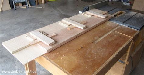 table saw jointer jig table saw jointing jig by ixj lumberjocks woodworking community