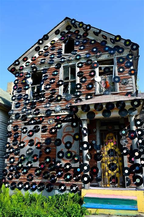 house of soul another fire destroys a house in detroit s heidelberg project michigan radio
