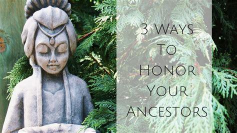 ways  honor  ancestors alcantara acupuncture