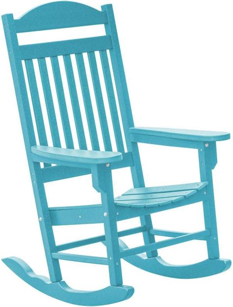 wildridge recycled plastic rocking chair traditional style
