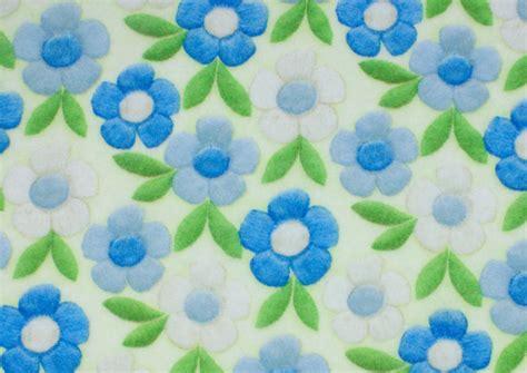 patterned felt sheets kunin patterned craft felt sheet spring flowers blue