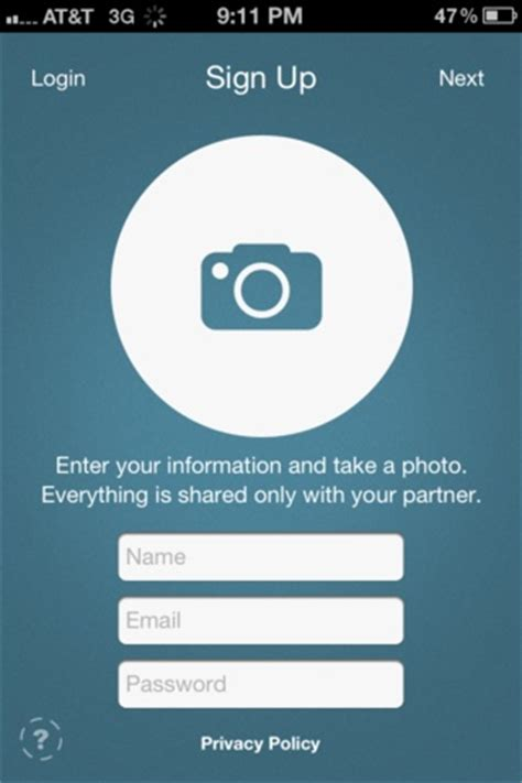 mobile sign up 162 best images about mobile ui sign ups on