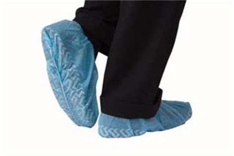booties shoe covers non slip package of 50 pair
