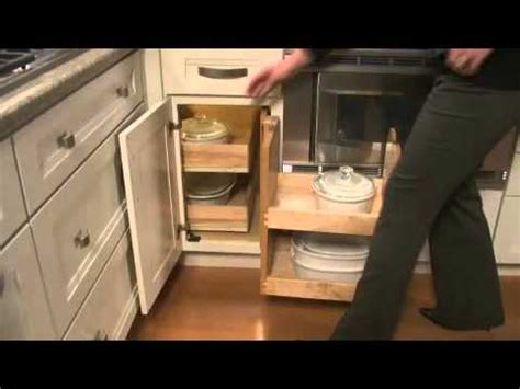 Base Blind Corner with Swing out Pantry   YouTube