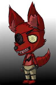 Foxy five nights at freddy s by oneangryginger on deviantart