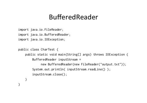 tutorial java bufferedreader 2 ways to read a text file in java exles java67