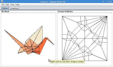Paper Folding 3d Software - origami editor 3d sourceforge net