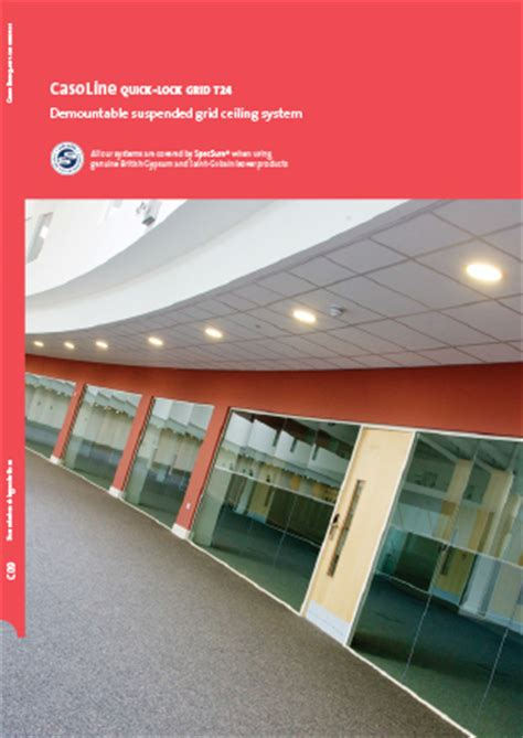 Gyplyner Universal Ceiling by White Book Sound Absorbing Solutions Section