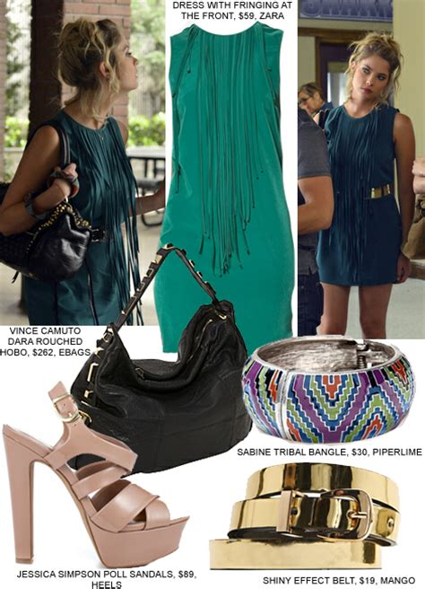 dress like pretty little liars fashion style clothes from the copy hanna s fringe dress from the pretty little liars