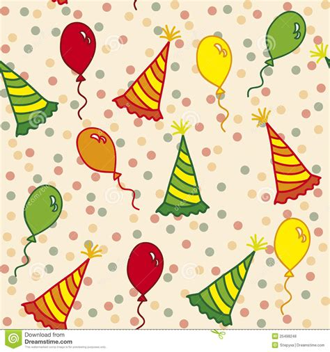 seamless pattern birthday birthday seamless pattern royalty free stock photos