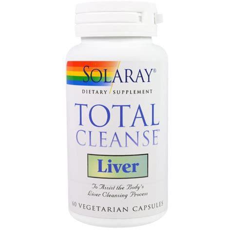 Hevert Detox Liver Reviews by Solaray Total Cleanse Liver 60 Veggie Caps Iherb