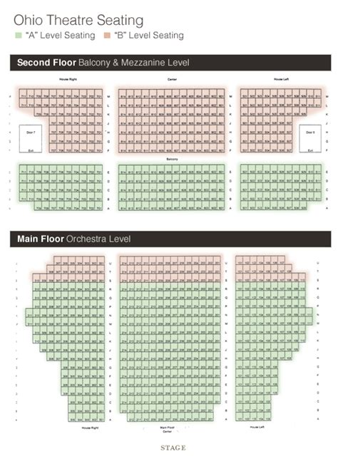 ohio theater seating chart cleveland playhouse seating chart brokeasshome