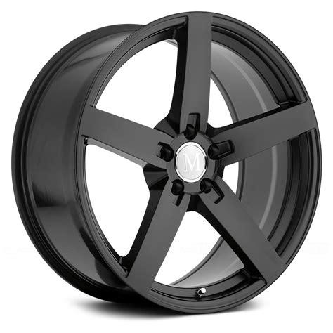 Mat Black Rims by Mandrus 174 Arrow Wheels Matte Black Rims