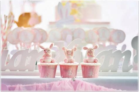 Bunny Birthday Decorations by Shabby Chic Bunny Themed 1st Birthday With Such