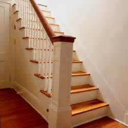 replacing balusters stairs interior this house