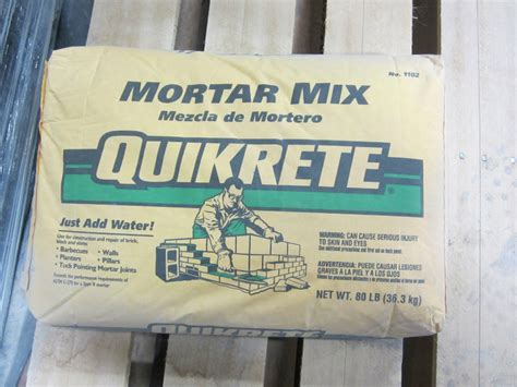 Quikrete Fireplace Mortar by Sand Cement Brickyard Colorado