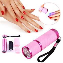 Best Led Nail L For Home Use by Pro Mini Led Nail Dryer Curing L Flashlight Torch For