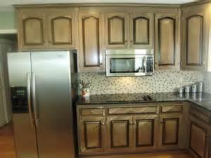 Pickled Wood Kitchen Cabinets Black Glaze Pickled Wood Glazed Cabinets