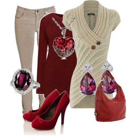 valentines day womens clothes casual winter fashion trends ideas 2013 for