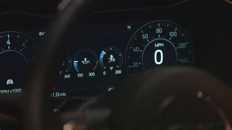 mustang digital speedometer 2018 ford mustang facelift loses v6 gains new 10