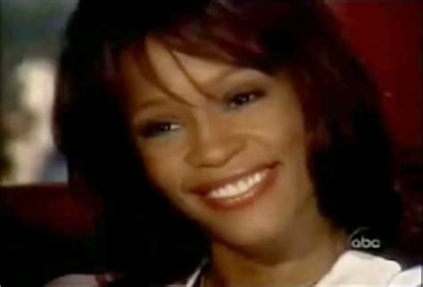 whitney houston and diane sawyer interview the most disturbing moment from whitney houston s 2002