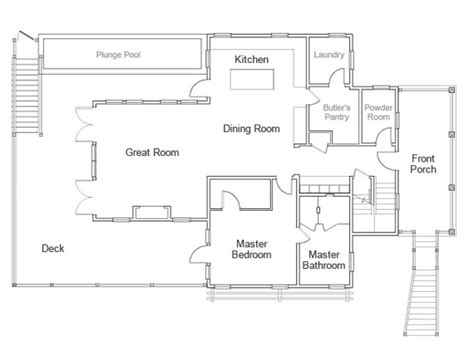 renderings and floor plan of hgtv home 2013