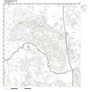 The Woodlands Zip Code Map by Amazon Com Zip Code Wall Map Of The Woodlands Tx Zip