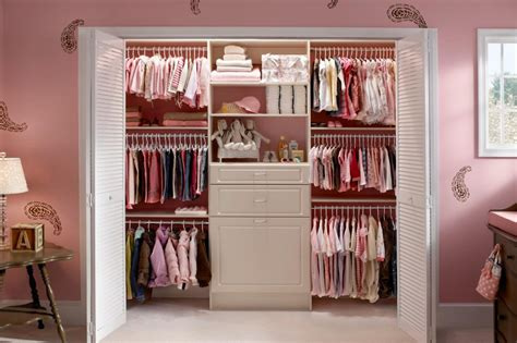 Ideas For A Girls Bedroom a closet that grows with your little girl hgtv