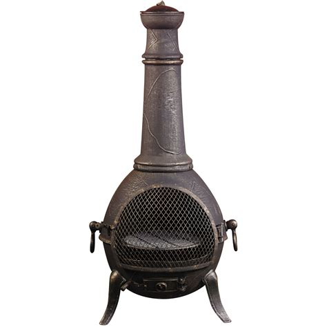 Retro Chiminea Cast Aluminum Cast Aluminum Chiminea Uk