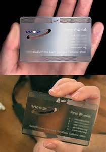 wozniak business card a must see 20 business cards of