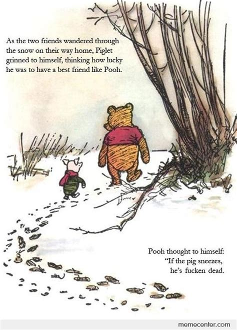 Winnie The Pooh Meme - winnie the pooh uncensored by ben meme center