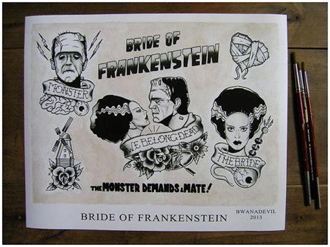 bride of frankenstein tattoo 25 best ideas about frankenstein on