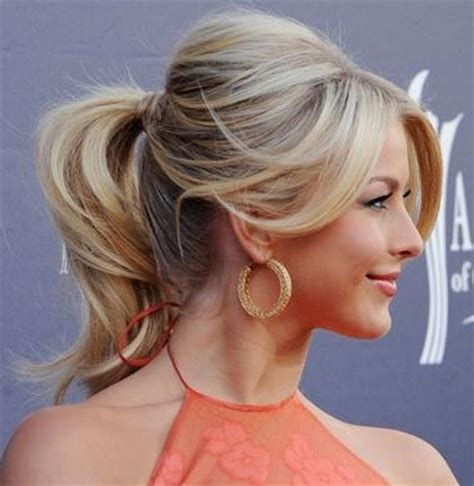 how to seeo pony tail with crown height the fancy ponytail the small things blog