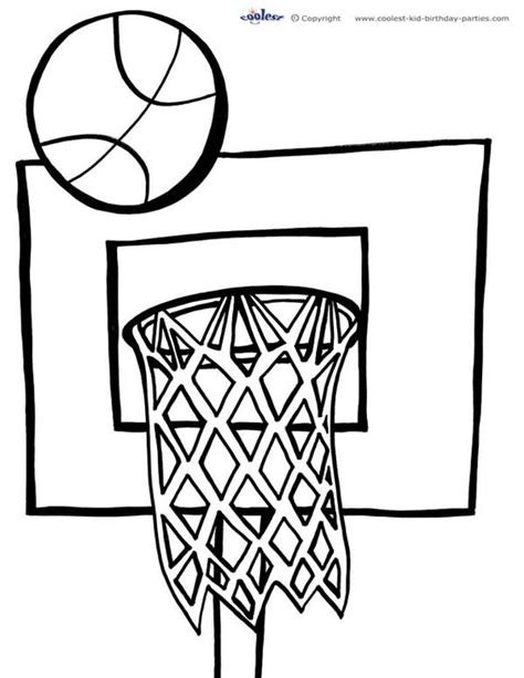 basketball coloring pages to print awesome coloring and basketball on pinterest