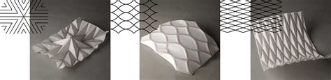 Paper Folding Work - folded paper structures oinkfrog