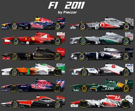 Formula 1 F1 2011 F1 2011 By Pieczaro On Deviantart