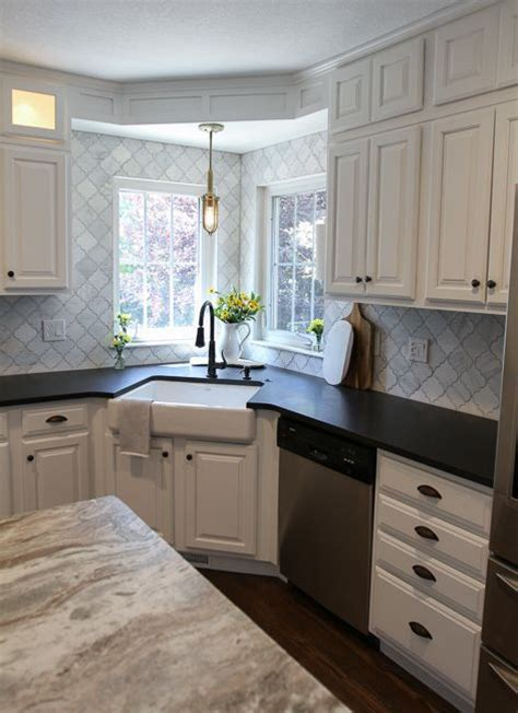 kitchen designs with corner sinks best 20 corner kitchen sinks ideas on pinterest white